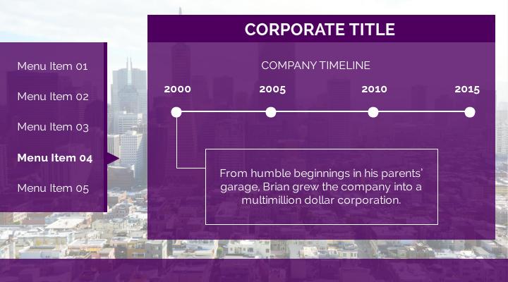 corporate-timeline