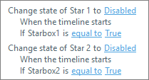 Storyline star trigger for slide 2