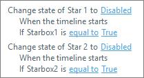 Storyline star trigger for slide 2