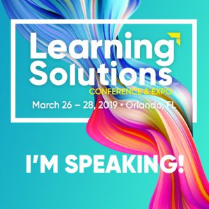 Learning Solutions Speaker Badge